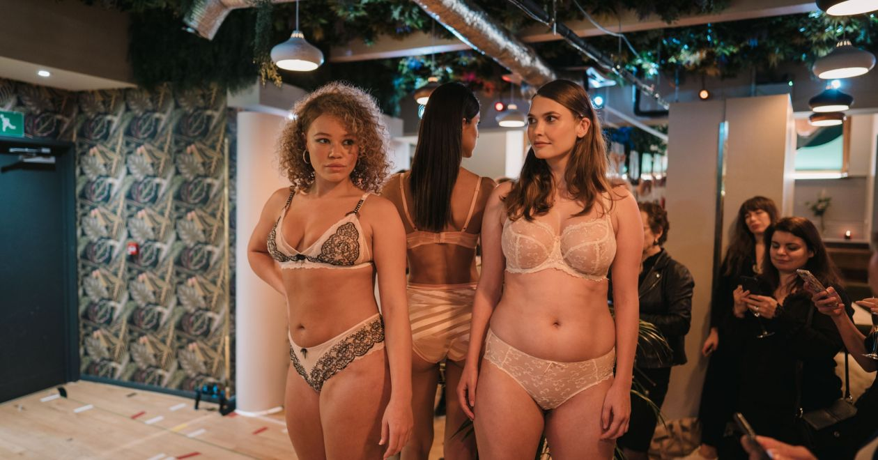 Fresh French Approach to Lingerie London Loft