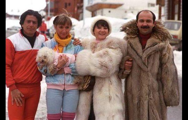 Les Bronzés font du ski French Christmas movie