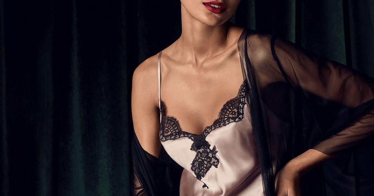 Soie d'Amour silk nightwear by Aubade