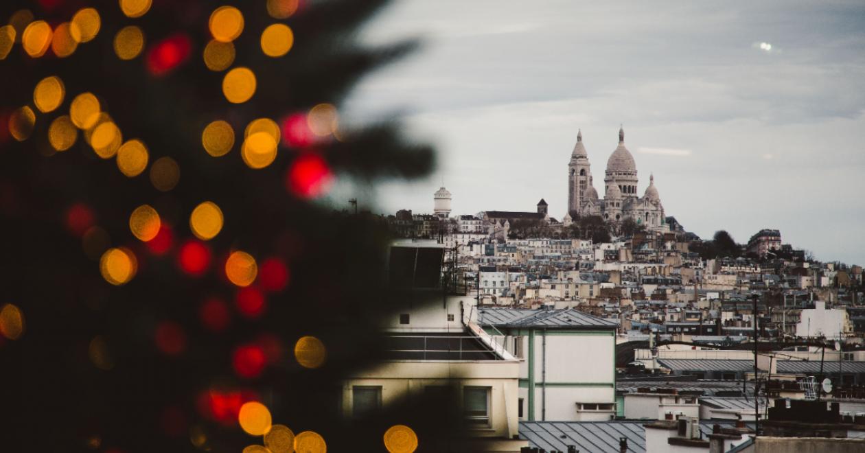 Paris France at Christmas