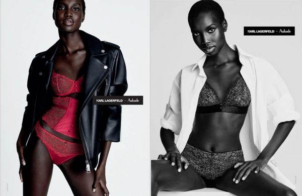 Karl Lagerfeld x Aubade Paris collaboration